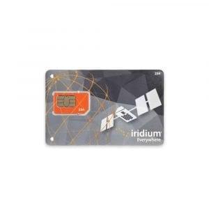 Iridium Post Paid SIM Card
